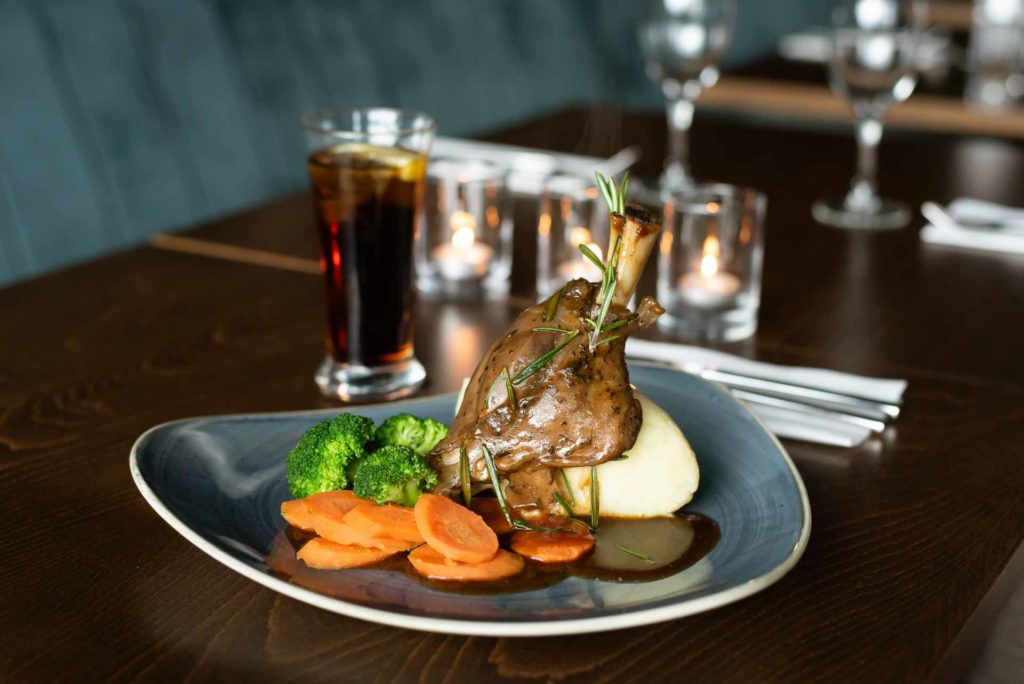 The Hoban Hotel Kilkenny 1801 Bar & Restaurant Slow Braised Lamb Shank